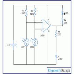 exhaust fan circuit diagram engineersgarage electronics rh pinterest com