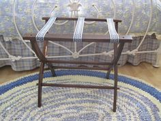 Vintage Luggage Rack by fatcatvintage on Etsy, $55.00