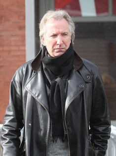 Actor Alan Rickman during the 2008 Sundance Film Festival on January 21, 2008 in Park City, Utah.