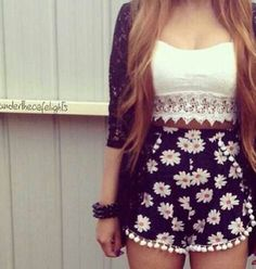 Resultado de imagem para roupas fofas femininas tumblr