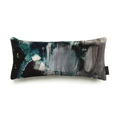 17 Patterns Nebulous Velvet Lumbar Cushion (£70) ❤ liked on Polyvore featuring home, home decor, throw pillows, british home decor, patterned throw pillows, parisian home decor, textured throw pillows and rectangular throw pillows
