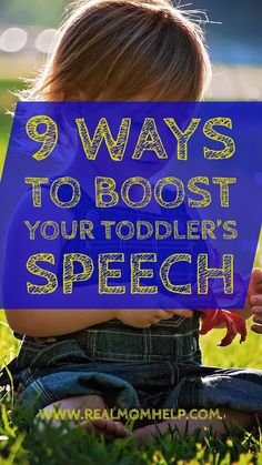 boost toddlers speech