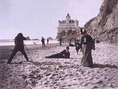 The Cliff House -- San Francisco, CA  .... burned to the ground in 1907
