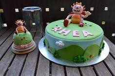 summer hugglemonster cake
