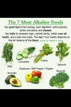 Les 7 aliments clé