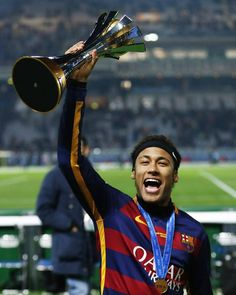 """""""Simply The Second Best Player In The World 😎🔝 You Can't Scroll Down Without Double Tap For ❤️"""" Neymar Barcelona, Good Soccer Players, Football Players, Messi And Neymar, Second Best, Best Player, Football Soccer, Champions League, Role Models"""