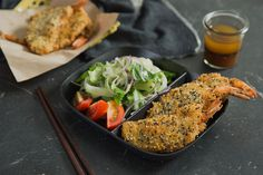 Cook This: Sesame Crusted Tikoy Prawn and Lapcheong Dumplings
