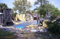 abandoned Miracle Strip Panama City | Miracle Strip Amusement Park....so sad to see