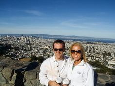 Twins Peak is a great spot for a view of San Francisco, as well as photos!