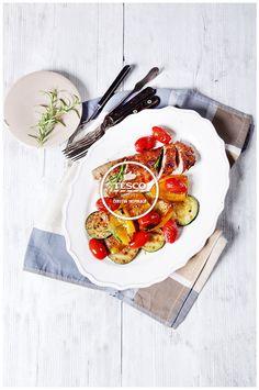 Vepřová panenka s grilovanou zeleninou  http://www.tescorecepty.cz/recepty/detail/84-veprova-panenka-s-grilovanou-zeleninou