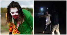 Killer Clown Run Over After Hitting Teen On The Head With A Wooden Plank - http://ffunny.com/killer-clown-run-over-after-hitting-teen-on-the-head-with-a-wooden-plank/