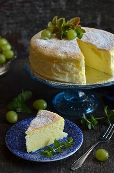 Sernik japoński - niebo na talerzu Sweet Recipes, Cake Recipes, Polish Recipes, Polish Food, Cheesecake Desserts, Vanilla Cake, Sweet Tooth, Food And Drink, Pudding
