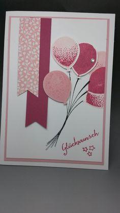 Hallo Ihr Lieben! Beginnen wir das Jahr doch mit etwas Neuem :-)) Hier habe ich Kirschblüte und Rosenrot kombiniert. G...