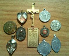 RELIGIOUS PENDANTS---CATHOLIC