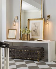 Stunning Entry by WINDSOR SMITH FOR ARTERIORS