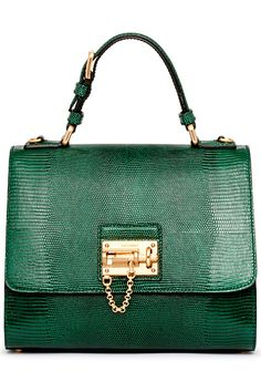 Dolce and Gabbana Emerald Green Handbag Fall-Winter 2014-2015 Collection