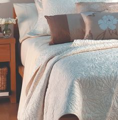 Linen & Soft Furnishings - Bay Tree Home & Decor Room Interior, Interior Design, Tree Furniture, Cotton Quilts, King Beds, Luxurious Bedrooms, Table Linens, Soft Furnishings, Linen Bedding