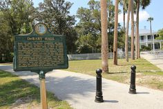 Debary Hall Historic Marker by Black.Doll, via Flickr  --DeBary, Florida