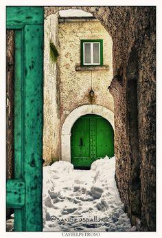 zielone drzwi wejściowe - Szukaj w Google