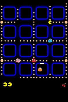 Pacman iPhone wallpaper