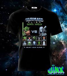 $179.00 Playera o Camiseta Star Wars Alien Match - Jinx