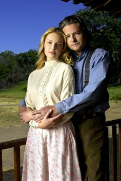 Love comes Softly... Clark and Marty <3  I don't really care for the movie though...