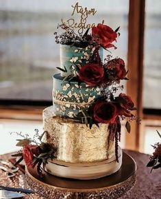 Opulent wedding cakes on Opulent Treasures cake stands. Discover our unique collection of entertaining and home decor pieces that will add charm and elegance to your special occasions and celebrations with stunning beauty!    See more here: https://www.opulenttreasures.com/shop/