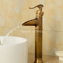 New Water Pump Look Style Antique Brass Single Lever Handle One