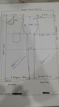 Dress Sewing Patterns, Sewing Patterns Free, Sewing Tutorials, Clothing Patterns, Sewing Projects, Sewing Men, Sewing Clothes, Pattern Making Books, Pattern Draping