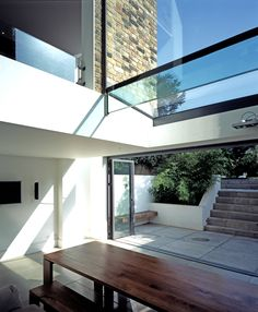 Split-level space | Private House | London SW18 | Giles Pike Architects