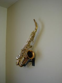 or we could figure out a cool homemade wall mount Saxophone For Sale, Cello Stand, Music Bedroom, Music Recording Studio, Welding Art, Rustic Lighting, Simple Art, Pedestal, Chandeliers