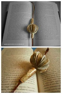 #Bookmark, #Books, #PaperBooks, #PlayingCard, #Recycled Bookmark created with an upcycled gift card !   ++ More information at Pane, Amore e Creatività website ! Idea sent by Linda !