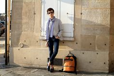 Today's menswear look of the day comes from STYLNOXE. Click here to copy his bag. #alphabravo #stylnoxe