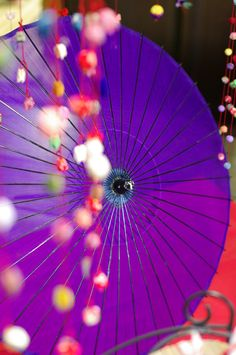 Japanese umbrella, Wagasa. 和傘 | love♡purple