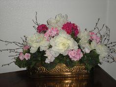 Elegant silk floral.