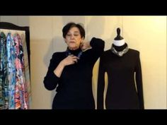 How to Tie a Scarf 4: Small Square Scarves  ( more videos on youtube)