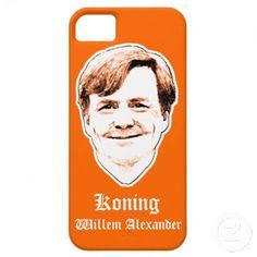 Koning Willem Alexander Aqua iPhone 5 Case #koningsdag #koninginnedag #oranje