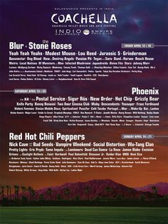 The Wait Is Over: Coachella's 2013 Lineup Is Live And It's GOOD! via @Refinery29