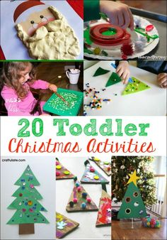 These 20 Toddler Christmas Activities Are The Perfect Way To Get Little Ones In Holiday