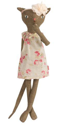 Maileg Medium Cat wearing Spring Summer Clothing Maileg Spring Summer Collection 2014