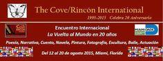 """The Cove/Rincón -Encuentro Internacional """"La vuelta al mundo en 20 años"""" en Miami, Florida - http://www.tvacapulco.com/coverincon-encuentro-internacional-la-vuelta-al-mundo-en-20-anos-en-miami-florida/"""