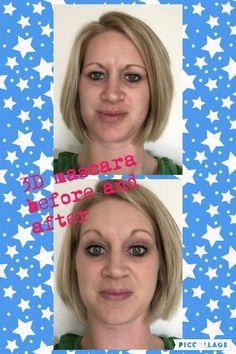 3-D mascara, eyelashes, Younique