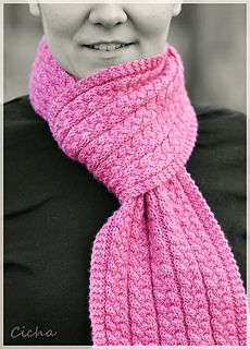 Tress Scarf: http://www.ravelry.com/patterns/library/tress-scarf