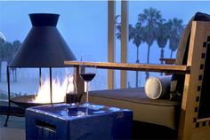 ocean and vine in santa monica - my favorite restaurant for romance.  i love eating next to the fire pit overlooking the ocean.
