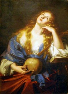 Penitent Mary Magdalene by Nicolas Régnier, Palace on the Water, Warsaw