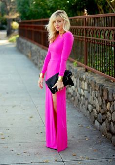 to be daring enough to rock this much pink!