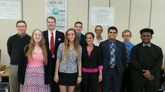 MVCTC Business Professionals of America students screen for regional officer…