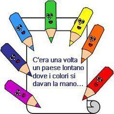 Filastrocche e posie sui colori per bambini Activities For Kids, Crafts For Kids, Day For Night, Life Skills, Paper Art, School, Children, Andiamo, Camilla