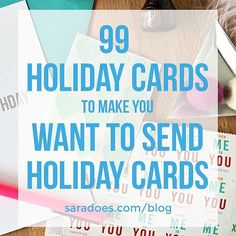 Making a serious commitment to #shopsmall  #shoplocal in a new quest to send 99 different holiday cards this year   Each week until the end of the year I'll be sharing a new maker  designs to make you want to send real holiday cards.  Head over to the blog this morning to read about my quest  why I'm buying 99 different cards  being totally crazy about this. #dontgetcrazy  Have any suggestions? Tag any designers  makers of awesome paper goods here  they just might get featured! The odds are…