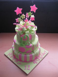 12th birthday cake #1